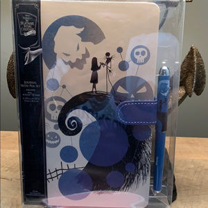 The Nightmare before Christmas Journal w/ pen